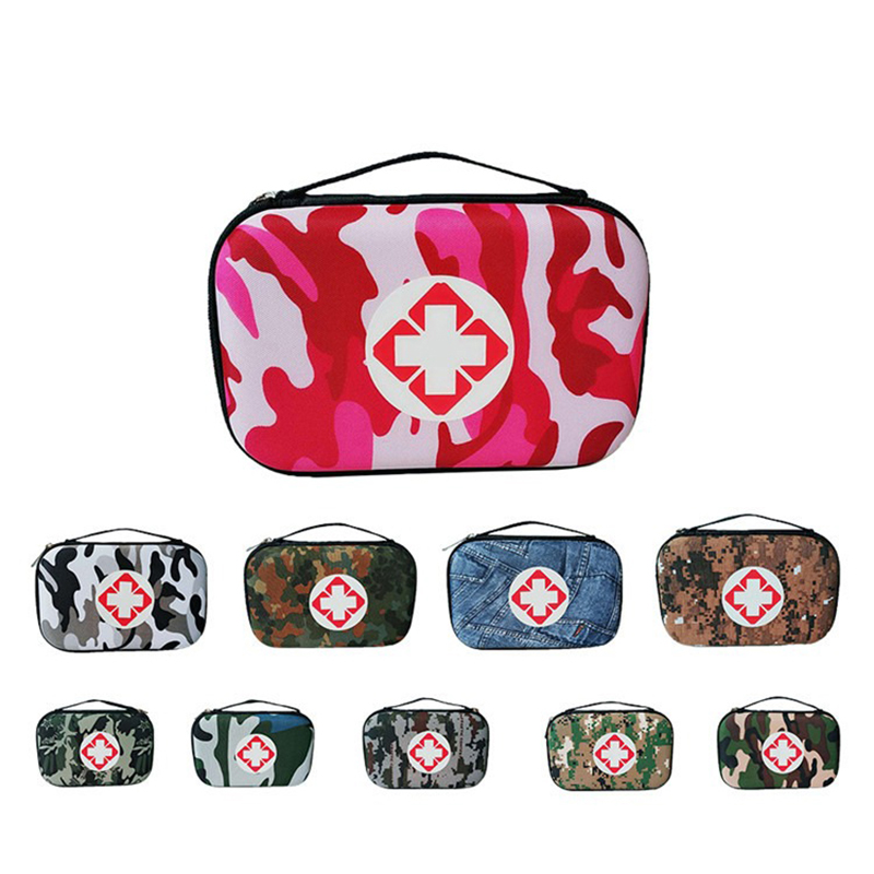 Camouflage Pattern Small Size Storage Bag Emergency Pills Organizer Bag Portable Digital Bag