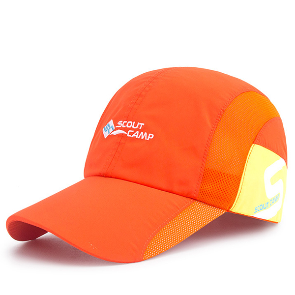 555574f5618 Men Women Mesh Summer Baseball Cap Breathable Quick-Drying Mesh Sunshade  Caps