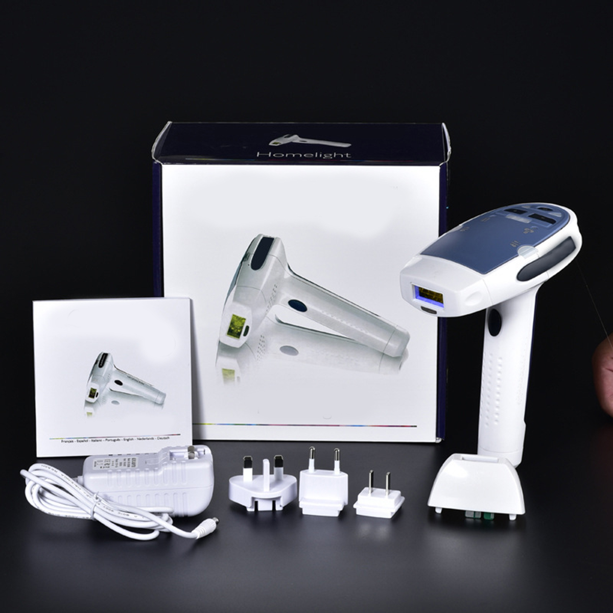 HPL Laser Body Hair Removal Epilator Permanent Home Use Depilator SKU539835