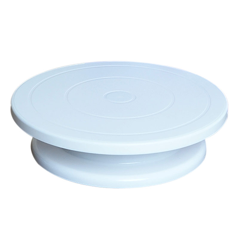 Cake Turntable Rotating Anti-skid Round Cake Decorating Stand Rotary Plate Kitchen DIY Baking Tool