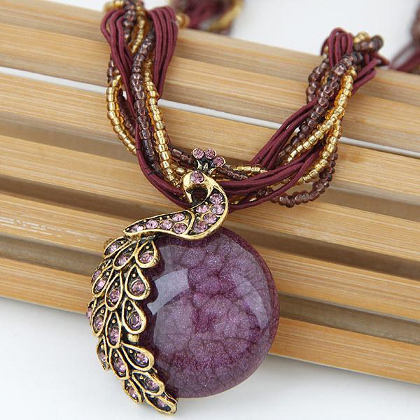 Collier bohémien à pendentif - Newchic - Modalova