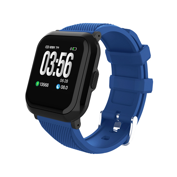 Full Touch Big Color Screen Smart Watch HR Blood Pressure Monitor Swimming Tracker