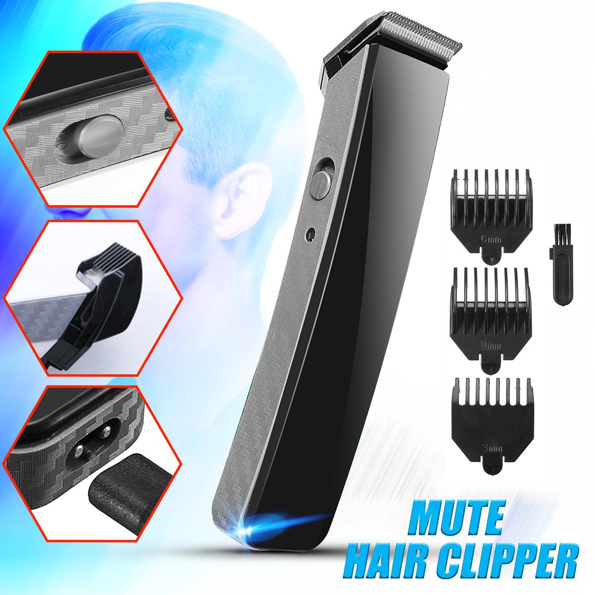 Electric Hair Trimmer Set Haircut Professional Tool Silent Hair Cutting Machine For Men Baby SKUA05061