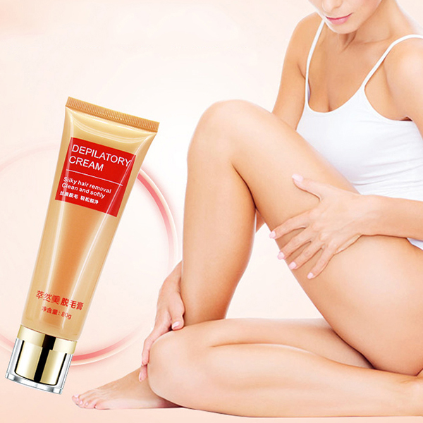 80g Depilatory Cream Axillary Bikini Permanent Body Hair Removal for Men and Women SKU831578