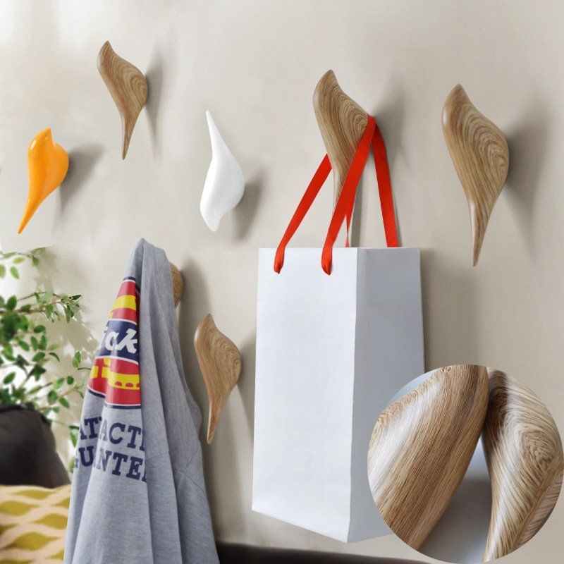 Image of Bird Wall Hooks Clothes Towel Robe Coat Hat Hanger Rack Home Decor 13CM