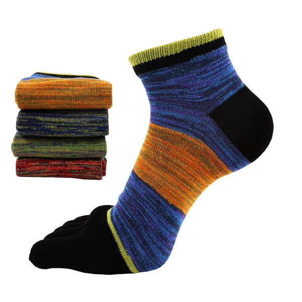 Mens Thick Cotton Long Toes Socks Print Middle Tube Socks Breathable Soft Sports Socks Crew Socks