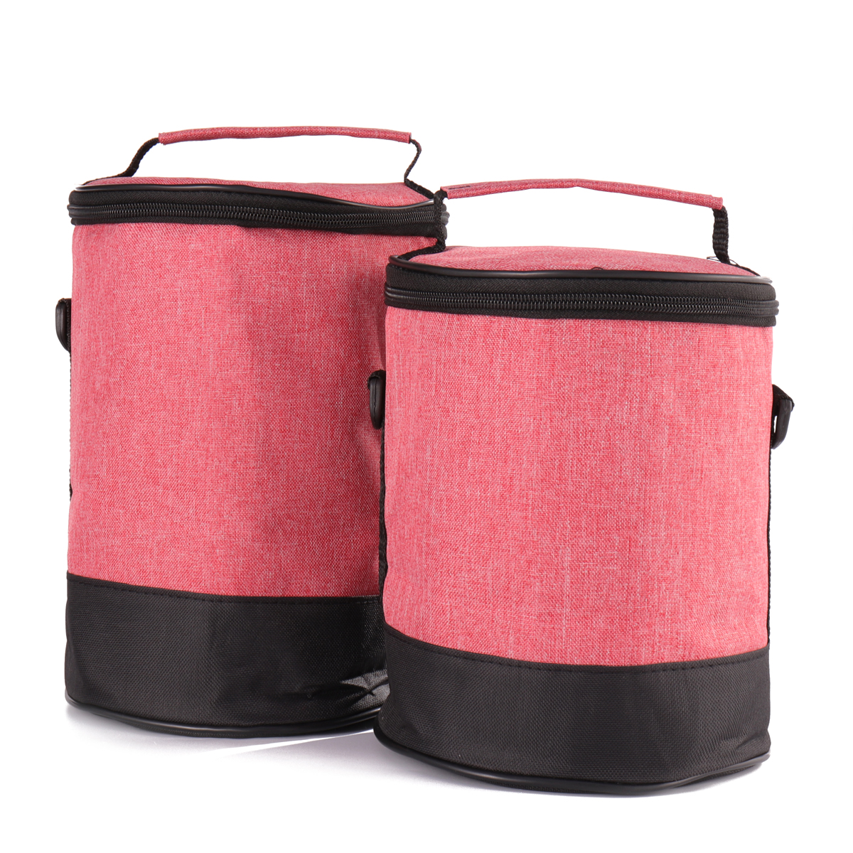 Lunch Tote Bag Cooler Insulated Handbag Zipper Storage Containers Lunch Box Shoulder Bag
