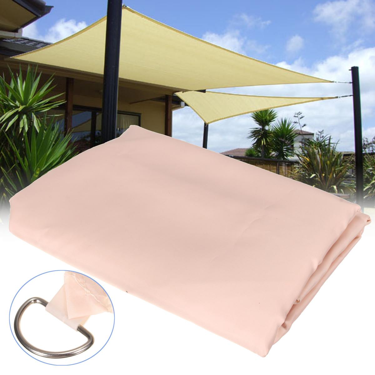 2.3X2.3M Patio Shade Sail Garden Cover Weterproof Mesh Net Window Awning Carport Canopy SKU733966