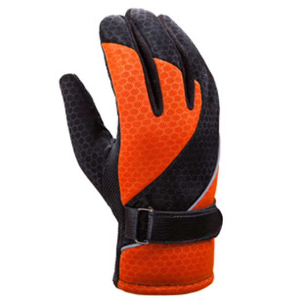 Women Mens Warm Waterproof Windproof Touch Screen Cycling Patchwork Gloves Full Finger Ski Gloves SKU725616