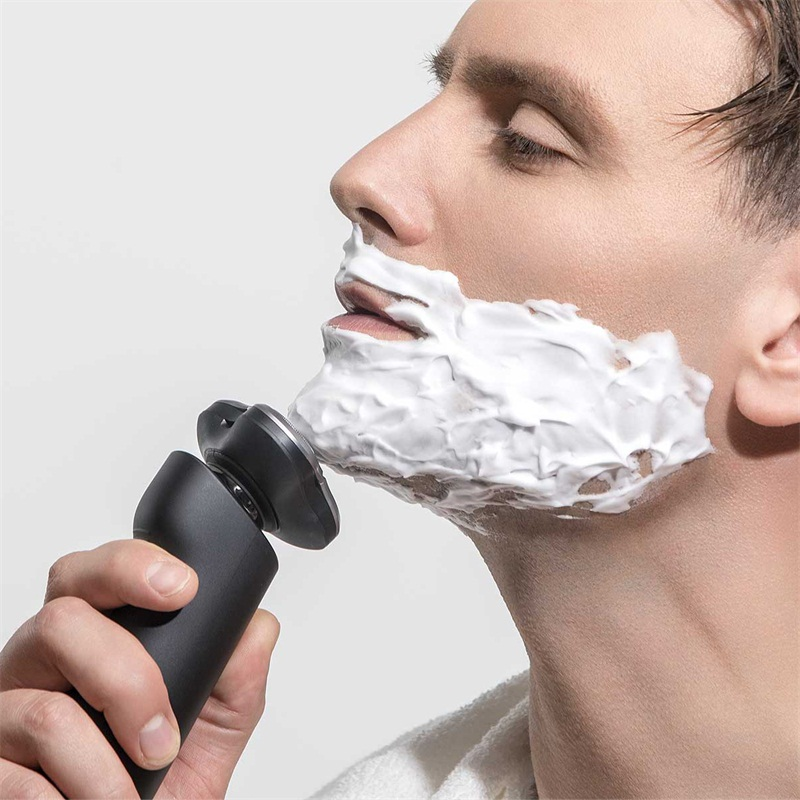XIAOMI Men Electric Shaver Washable Electric Beard Razor Rechargeable Wet Dry Available Razor SKU923745