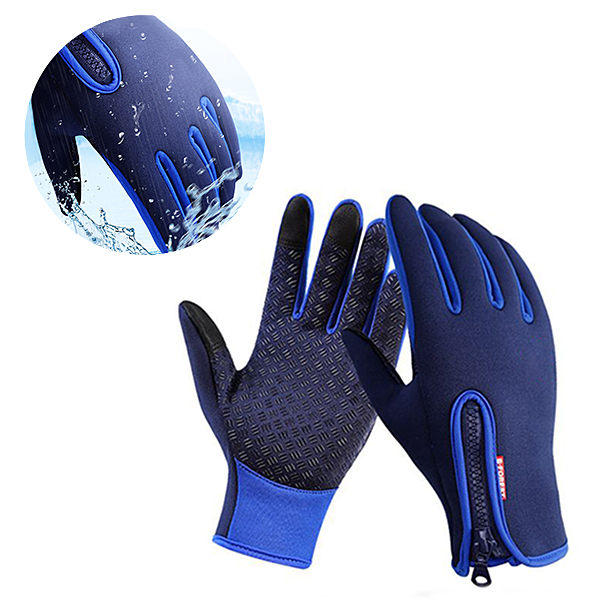 Men Women Ski Glove Waterproof Glove Warm Fleece Glove Touch Screen Glove Cycling Full Finger SKU717741