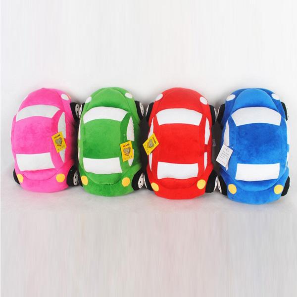 35CM Plush Toy Car Pillow Cushion Plush Car Doll Beetle Car Toys - Photo: 3