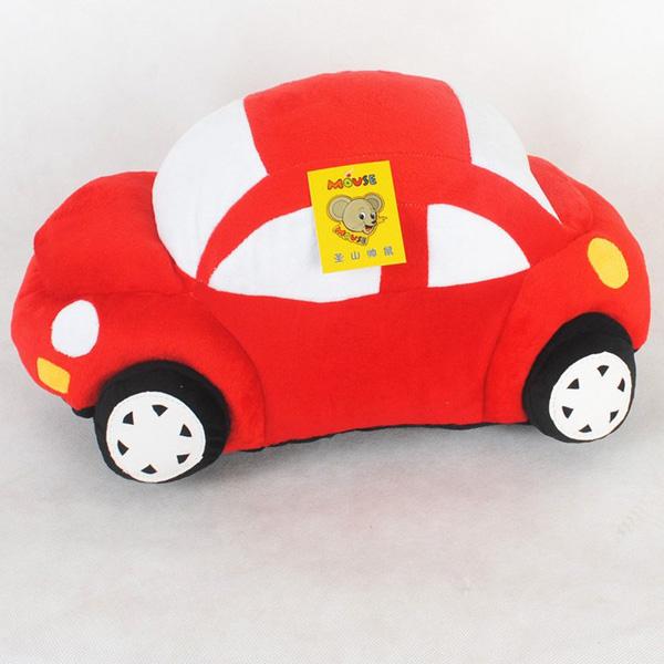 35CM Plush Toy Car Pillow Cushion Plush Car Doll Beetle Car Toys - Photo: 9