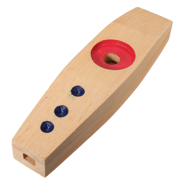 Orff Percussion Educational Toys Wooden Kazoo
