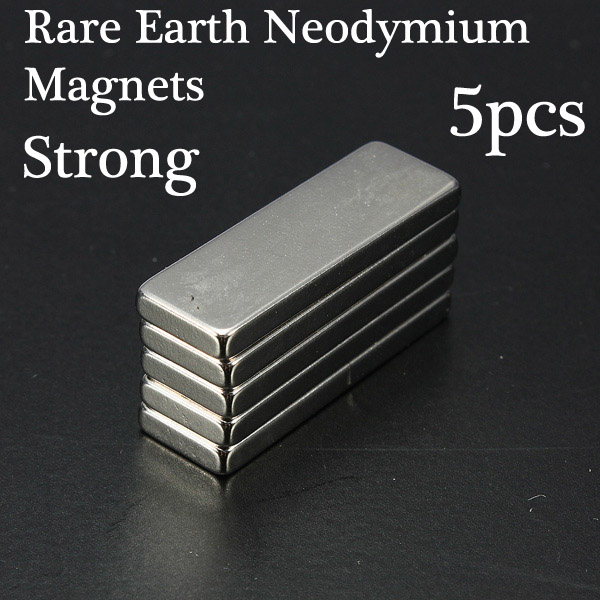 Rare Earth Neodymium Strong Cuboid Block Magnets N35 30x10x3mm