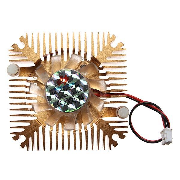 Buy 2 Pins 55x55x11mm 12V 0.1A Heatsink CPU Cooling Fan PC Computer