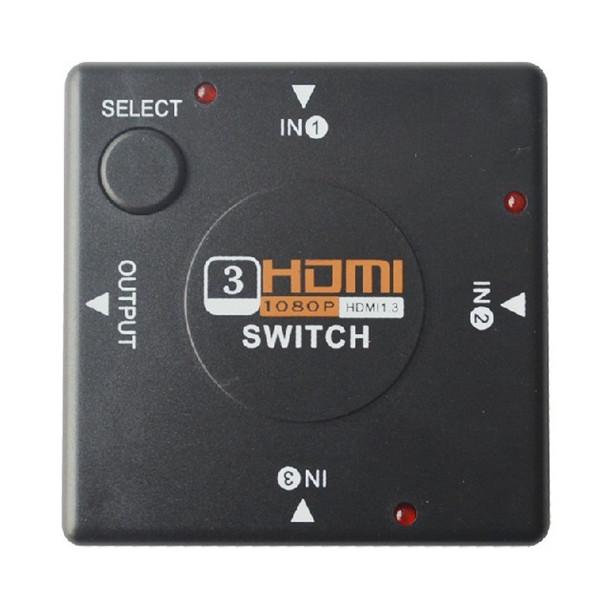 Buy 3 Port HDMI Switch Switcher Splitter for HDTV 1080P PS3