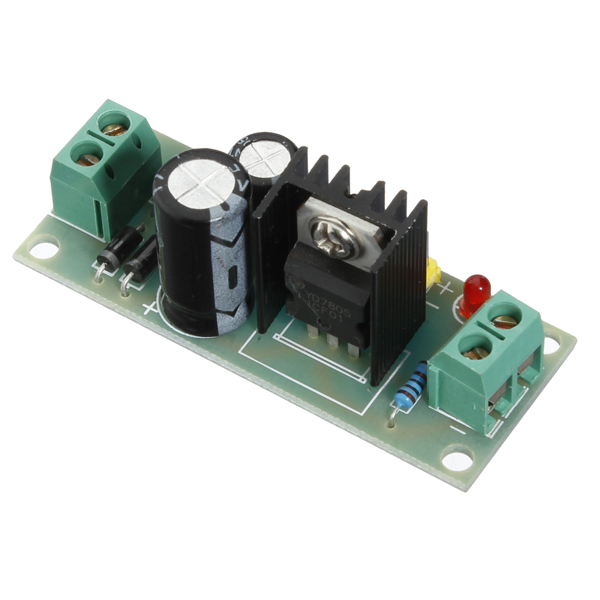 7805 Voltage Regulator Circuit D Mohankumar Voltage Regulators