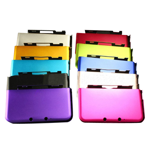 Multicolor Aluminum Hard Metal Case Cover Shell For 3DS