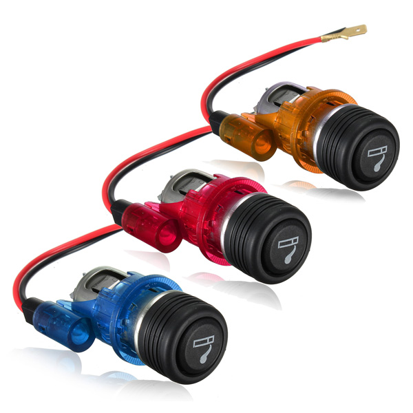 12V 120W Car Motorcycle Cigarette Lighter Power Socket Plug Outlet