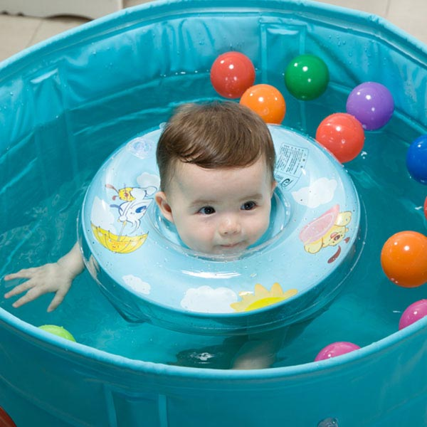 Vvcare BC-SR01 Baby Swimming Neck Float Ring Safety Aid Tube ...