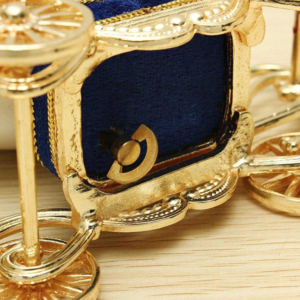 Royal Carriage Egg Carving Music Box DIY Gift - Photo: 9