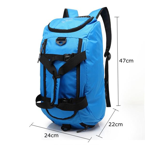Men Women Leisure Backpack Waterproof Nylon Sport Bag Travel Backpack