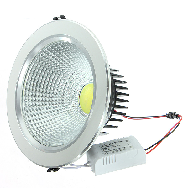 21W COB LED Ceiling Downlight Sliver Shell Belt Drive 85-265V