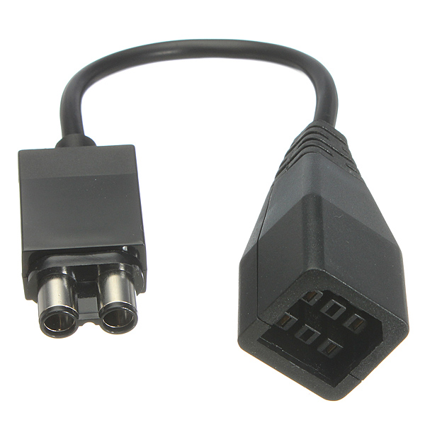 Power Supply Plug Adapter Convert Cable for XBox 360 to