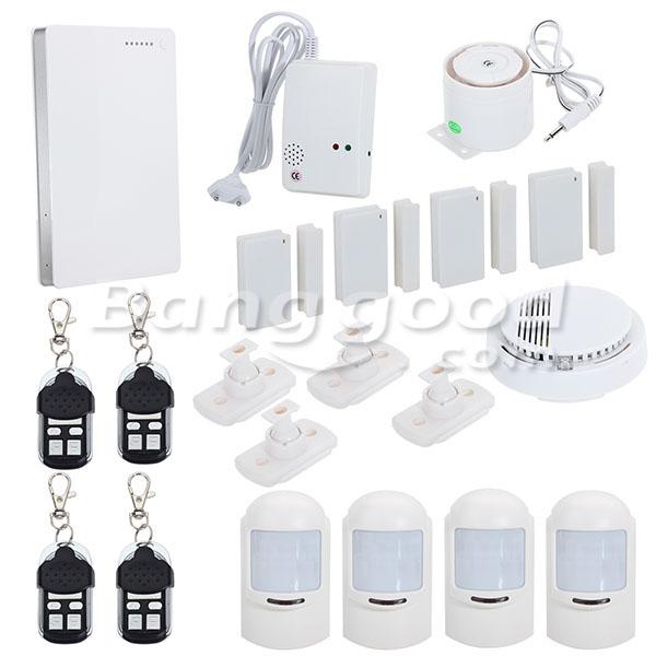 G1EW Intelligent Wireless GSM Home Security Alarm System Remote ...