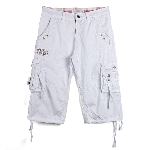Men's Casual Multi-pocket Large Size Cargo Shorts - US$20.89 sold out