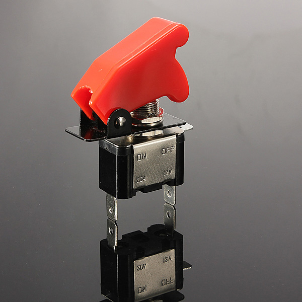 Buy 20A 12V Red Car Modification Toggle Switch ON/OFF