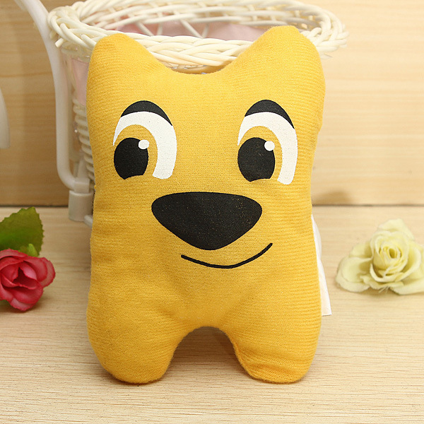 Dog Pet Puppy Chew Squeaky Plush Sound Cute Cartoon Style Funny Doll