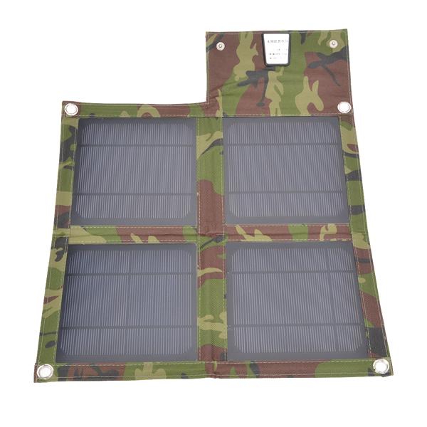 10W USB Folding Solar Panel Outdoor Portable Charger For Mobile Phone