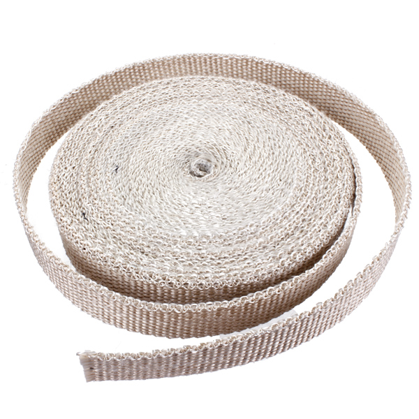 Buy Exhaust Manifold Header Downpipe Heat Wrap Front Pipe 1800°F White
