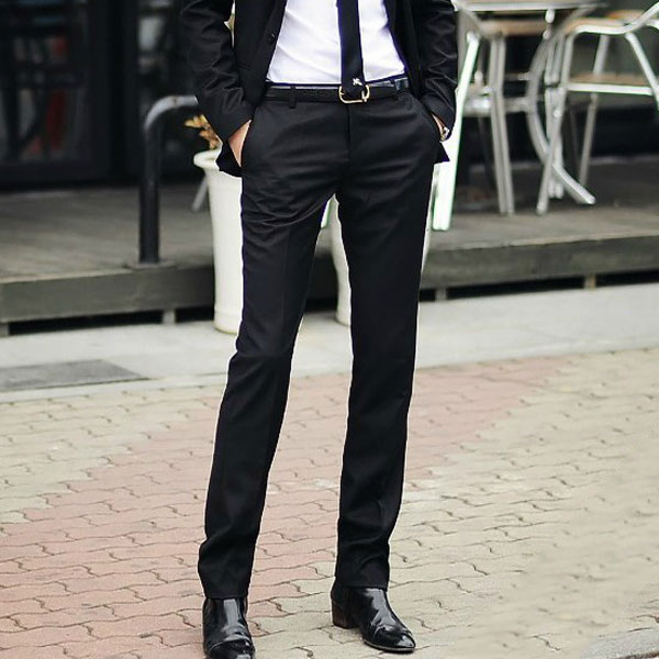 Menu0026#39;s Slim Fit Business Dress Pants Casual Suit Pants - US$17.56 Sold Out