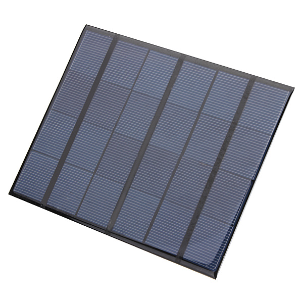 3 5w 6v epoxy solar panel solar cell panel diy solar charger us sold out - Panneau solaire mobil home ...