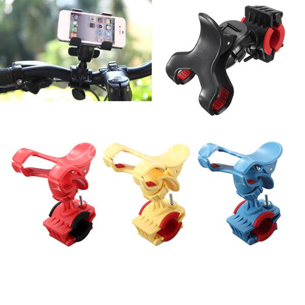 360 Rotatable Bicycle Handlebar Clip Stand Mount Bracket For iPhone
