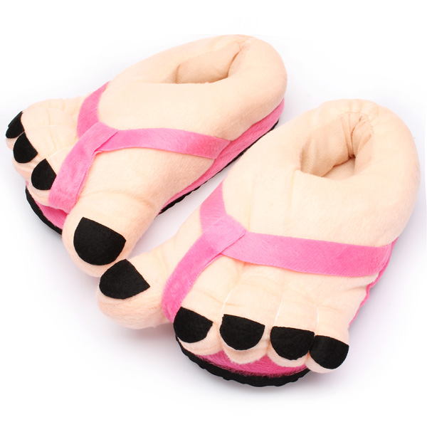 Buy Women Novelty Big Toe Cotton Home Slippers Lovers Indoor Shoes