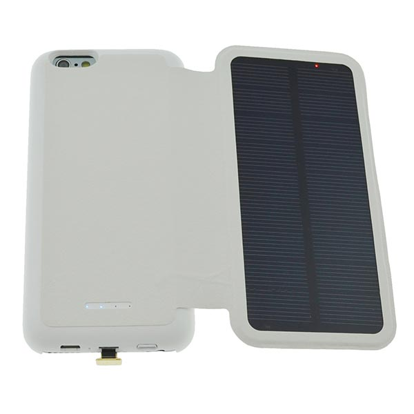iphone 6 solar charger 2800mah external backup battery solar charger for 15086