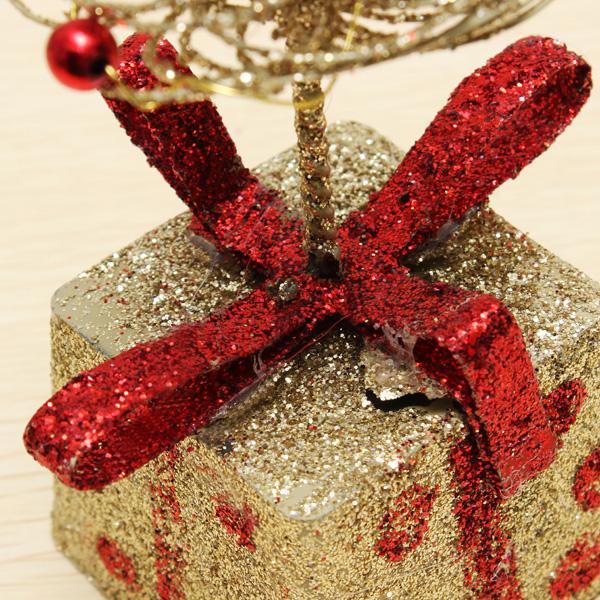 mini hierro forjado rbol de navidad decoracin de escritorio de regalo de navidad