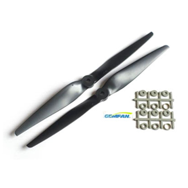 Gemfan 1050 Carbon Nylon CW/CCW Propeller Graupner For RC Multirotor