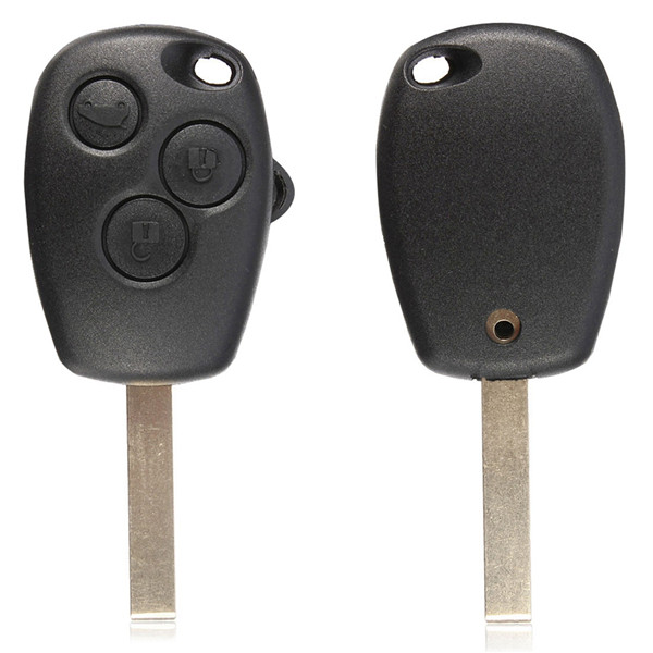 Buy Remote Key 3 Button Fob Blank Blade For Renault Modus Kangoo Master
