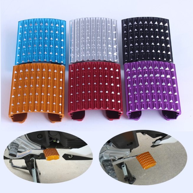 Motorcycle Skid Brake Pedals 6 Colors Modified Accessories