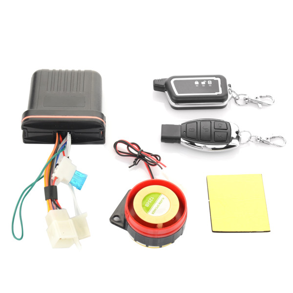 Motorcycle Anti-theft Security Remote Vibration Sound Sensor Alarm