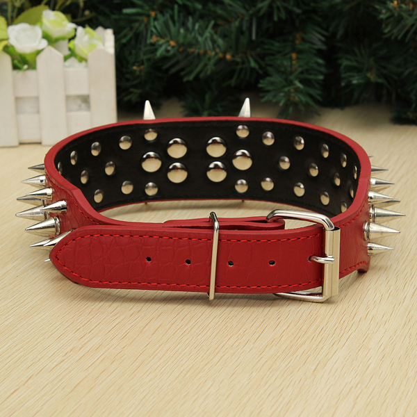 Pet Bulldog Spiked Collar