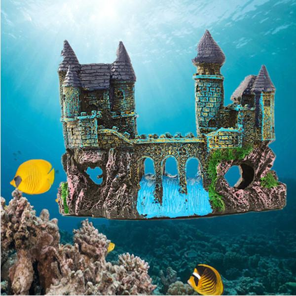 Aquarium Fish Tank Castle
