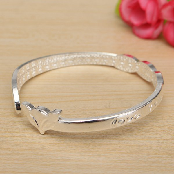 LOVE YOU Opening Bangle