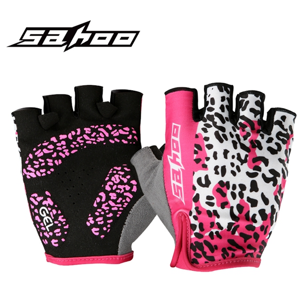 Buy SAHOO Bicycle Gloves Half Finger Cycling Shockproof Anti-slip Women
