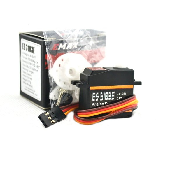 6X EMAX ES3103E 17g Analog Servo For RC Model